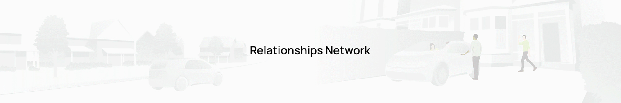 Relationship network animation