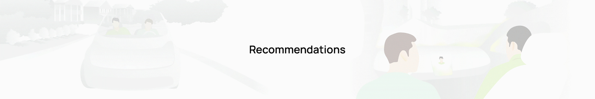 Recommendations animation